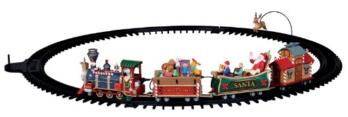 Lemax Christmas Village Battery Operated Starlight Express Train Set #04232 by Lemax