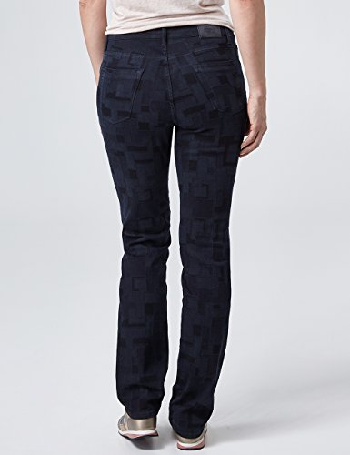 Blau 907 Taglio Donna Kate Graphical With Black Jeans Dritto Pioneer A blue Laserdessin qYxT7nwtd