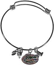NCAA Womens Charm Bangle Bracelet
