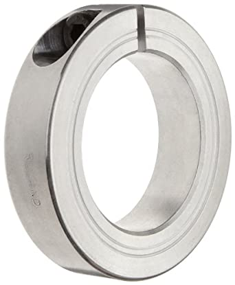 Ruland MCL-21-A One-Piece Clamping Shaft Collar, Aluminum, Metric, 21mm Bore, 42mm OD, 15mm Width (Pack of 2)