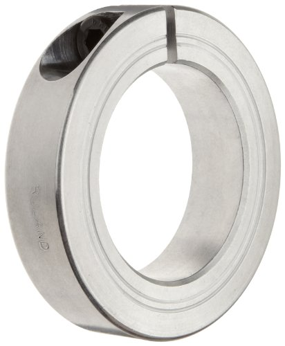 Ruland MCL-8-A One-Piece Clamping Shaft Collar, Aluminum, Metric, 8mm Bore, 18mm OD, 9mm Width (Pack of 4)