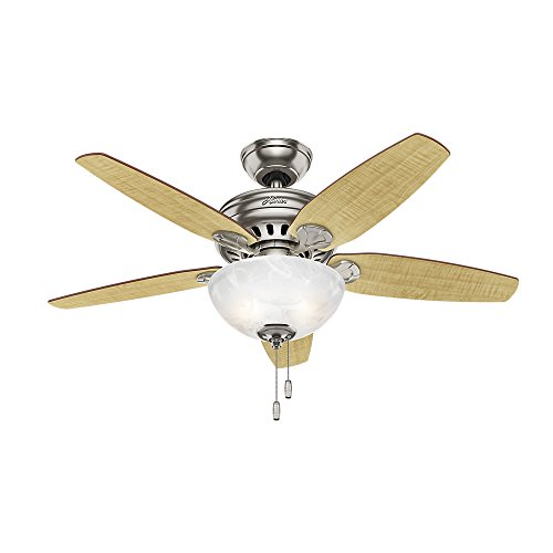 brushed nickel 44 ceiling fans - 5