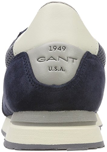 Gant Duke, Sneaker Uomo Blau (Multi Beige)