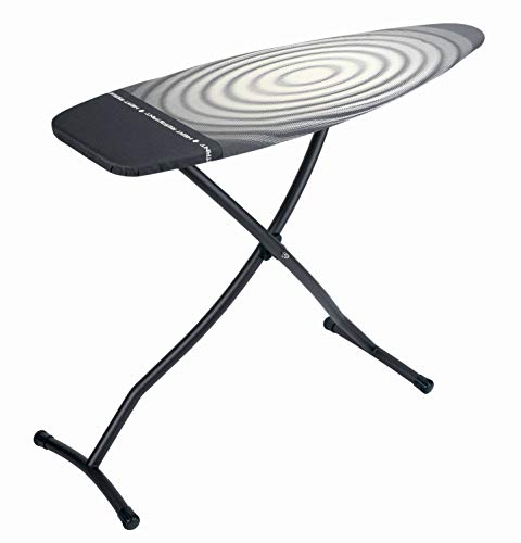 Brabantia Ironing Board with Iron Parking Zone, Size D, Extra Large - Titan Oval Cover ()