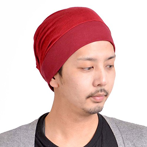 Rojo Holgado Sombrero Gorrita Hombre Tejido Doble Capa Forma Flojo Japonés Moda Diseño Casaulbox wA4qOpR
