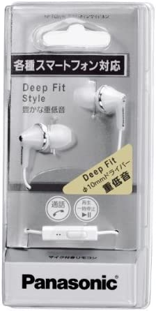 Fast Delivery PANASONIC RPHJE123P1Z Stereo Earphones (Turquoise Blue) V7Za8Op