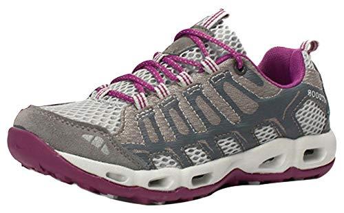 Transpirable Zapatillas Senderismo Gris Mujer Antideslizantes Insun Zapatos Deporte De Trekking t4Y5w