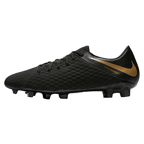 Nike Hypervenom 3 Accademia Fg Mens Aj4120-090 Nero / Oro Mtlc Vivido