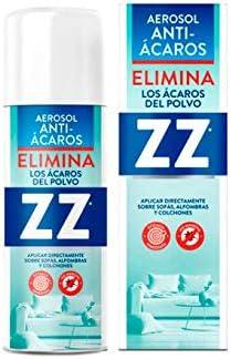 zz Antiacaros spray tejidos,alfombras, y sofás: Amazon.es: Salud y ...
