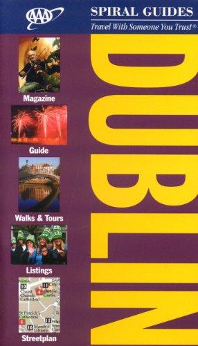 AAA Spiral Dublin (AAA Spiral Guides Series) -