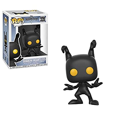 Funko Pop! Disney: Kingdom Hearts - Shadow Heartless Vinyl Figure (Bundled with Pop BOX PROTECTOR CASE): Toys & Games