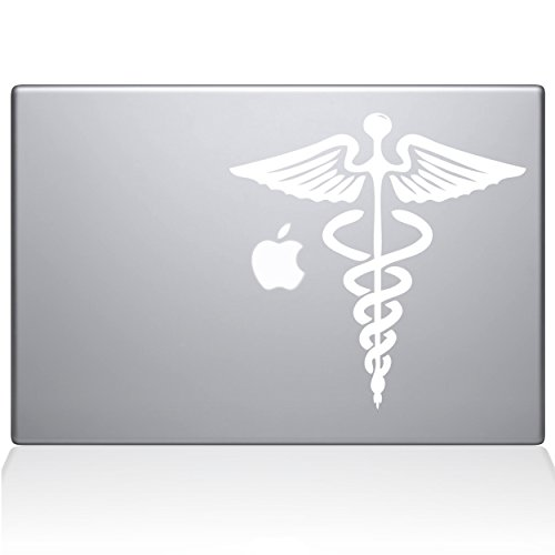 The Decal Guru Medical Symbol MacBook Decal Vinyl Sticker  -