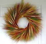 Painted Desert Dried Wheat Wreath