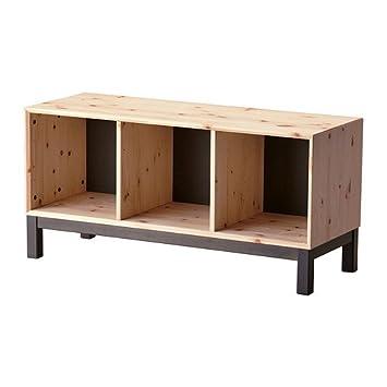 ikea nornäs - bank mit staufächern, kiefer, grau: amazon.de: küche ... - Eckbank Küche Ikea