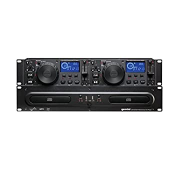 Image of CD Players Gemini CDX Series CDX-2250i Professional Audio DJ Equipment Multimedia CD Media Player with Audio CD, CD-R, and MP3 Compatible with USB Input