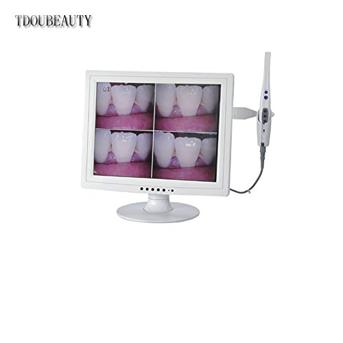 Dental Digital M-958 Intraoral Camera Imaging 15inch LCD Monitor SONY CCD USB Video US by TDOUBEAUTY