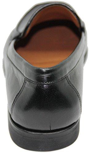 España Shoes de Inca Calidad Mallorca con Mocasín Negro Color Fabricado a Zapato Primera George´s Antifaz EN Tafilete 3406 Piel Mano HxngAqwA