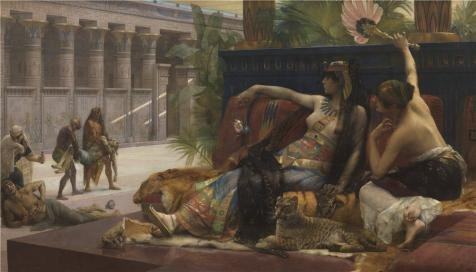 Oil Painting 'Cleopatra Having Poison Tested On Prisoners Condemned To Death, 1887 By Alexandre Cabanel' 16 x 28 inch / 41 x 71 cm , on High Definition HD canvas prints, Hallway, Home Office, decor