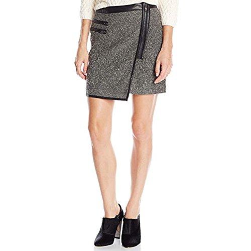 Greylin Womens Peyton Woven Skirt Black Large -