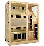 JNH Lifestyles NE3HB1 NE3HB Infrared Sauna