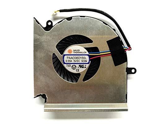 Cooler para MSI GE63VR MS-16P1 GE73VR MS-17C1 GPU PAAD06015SL N384(Not !!!)