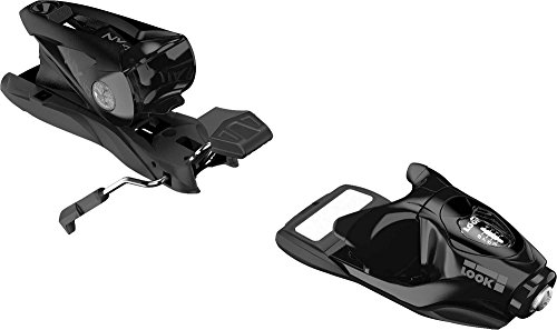 Look NX 10 Ski Bindings - 2018 - 93 mm brake, Black by Look
