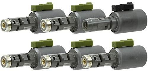 - Rostra 52-9042 09G/D Linear Solenoid Set- TCC, EPC, C1, C2, C2 & B1 Linear Solenoids (6 Solenoids included) TR60SN Aisin Warner 02-10 K133952
