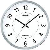 カシオ アナログ電波掛時計 秒針停止機能付