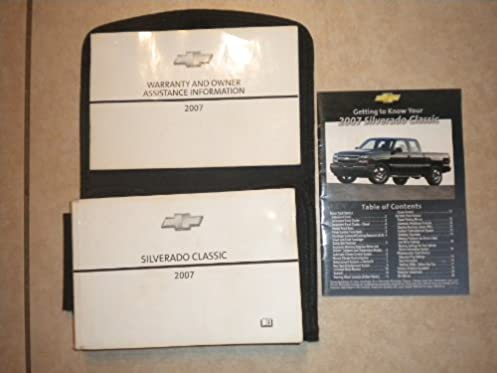 2007 chevy silverado owners manual data wiring diagrams