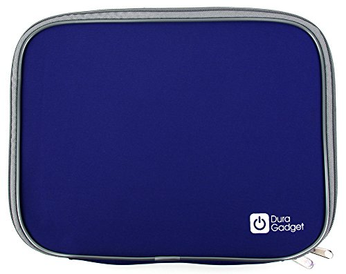 DURAGADGET Blue Water And Impact Resistant Protective Case For Oregon Scientific Barbie B-Book Learning Laptop & B-Smart Learning Laptop