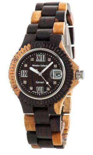 Tense Multicolored Sports Watch Mens G4100DM Roman RNDF by Tense Wood Watches