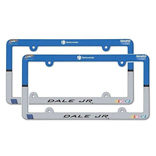 Dale Earnhardt Jr. Plastic License Plate Frame - Dale Jr. 2-pack