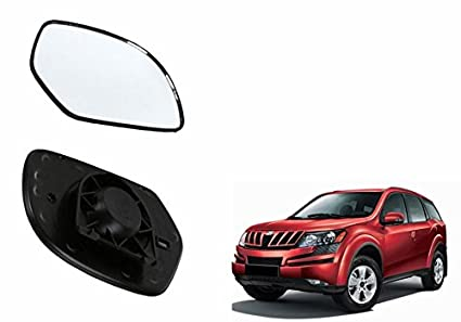 Speedwav Car LEFT Side Rear View Mirror Glass -Mahindra XUV 500 Type 1  (2012-2014)