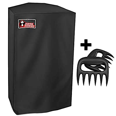 Kingkong 7138 Premium Grill Cover for Weber Spirit 200 and Spirit II 200 Series Gas Grills (Compared to 7138) Including Brush, Tongs from King Kong