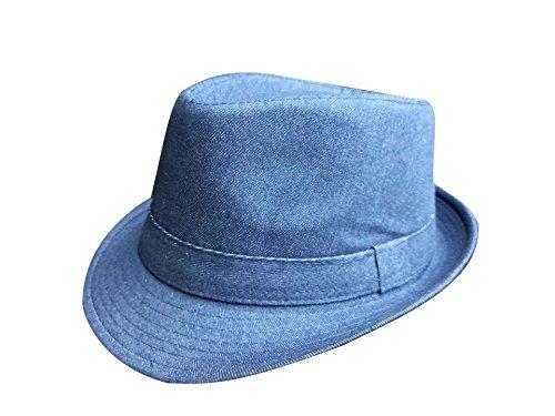 adulto per Travel Accessorio Acvip Panama Fedora unisex blu Cappello indumento x6wRqXX0tE