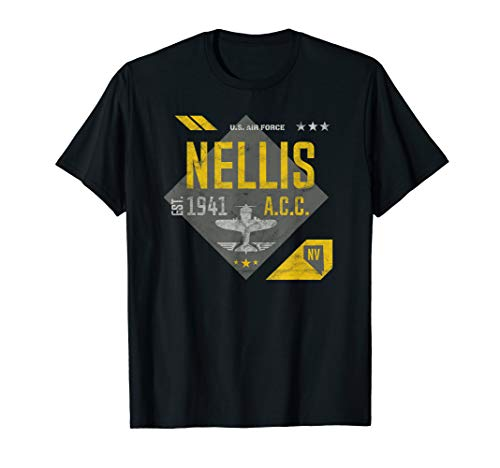 Nellis Air Force Base Shirt Nevada Airborne