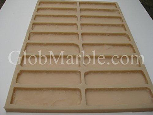 Rubber Mold. Concrete Veneer Paver. Old Brick Stone 611/1