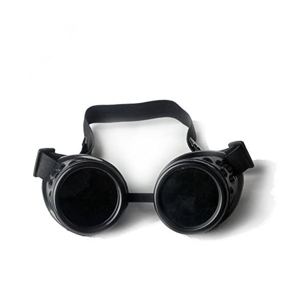 FLORATA New Sell Vintage Steampunk Goggles Glasses Welding Punk Gothic 3