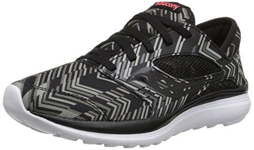 M Coral Black Women's Running US Mint Road Kineta 10 Shoe Saucony Chevron Relay waPzYnzq