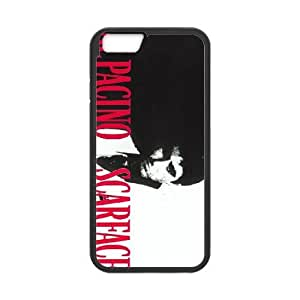 Al Pacino Scarface For iPhone 6 Plus 5.5 Inch Cell Phone Case Black Mfzrc7179128