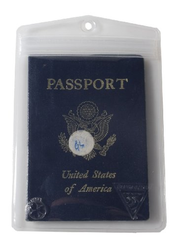 (Seattle Sports Dry Doc Waterproof Passport, Valuables, and Small Electronics Case)