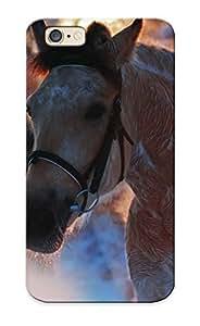 8c06d586813 Rightcorner Horses Durable Iphone 6 Tpu Flexible Soft Case With Design