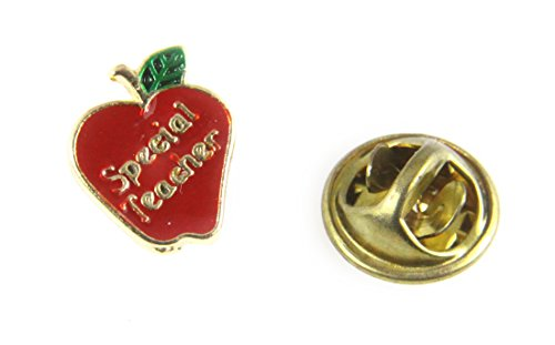 6030293 Special Teacher Apple Lapel Pin Appreciation Year End Gift (Appreciation Lapel Pin)