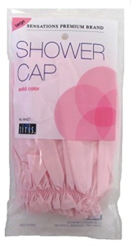 Siris Shower Cap Large Solid Vinyl (3 Pack)