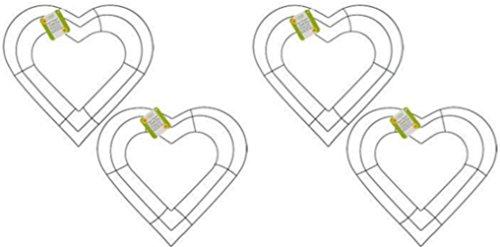 Heart Shape Wire - 4 - 12