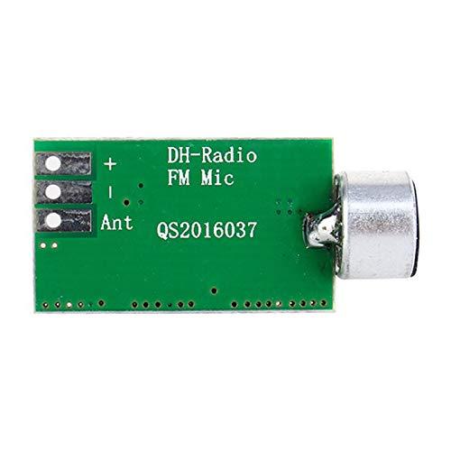 Semoic FM Transmitter Module Board 88MHZ-108MHZ BugWiretap Dictagraph Interceptor