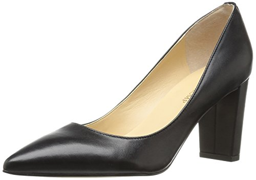 Ivanka Trump WoMen LYSA Pump, Black Leather Black