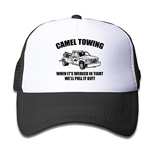 Camel Towing Baseball Hat Adjustable Back Mesh Cap For Baby Baseball Humor Cap