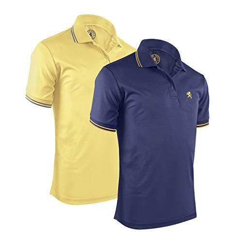 (Albert Morris Men Polo Shirt 2 Pack - Beach Pack, Short Sleeve (XX-Large))