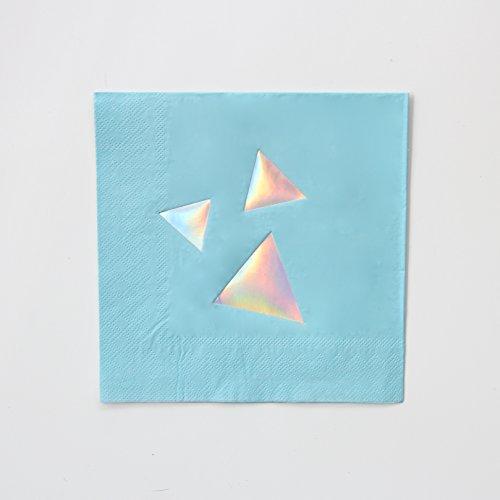 Bash Party Goods 100209 Disco Diamond Paper Napkins Pastel -